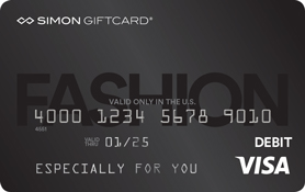 Visa® Simon Giftcard®: Fashion