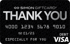 Visa® Simon Giftcard®: Thank You