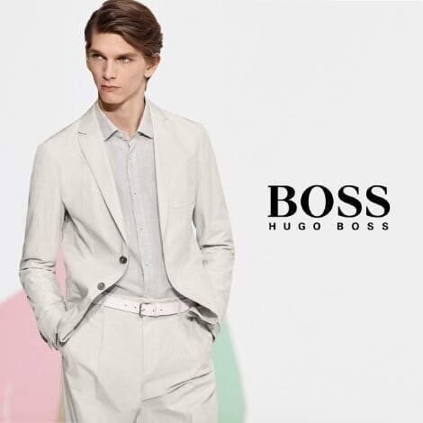 boss outlet - promo spot - summer sale paid ad image