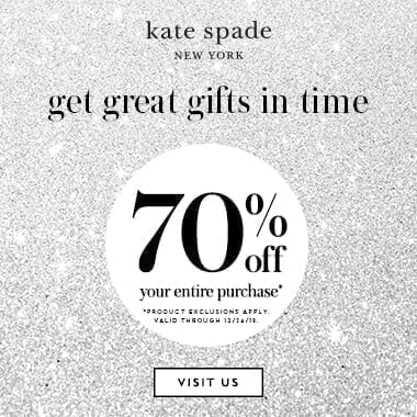 Kate Spade - Multi - Banner 12/19-12/24/19 (70 off)
