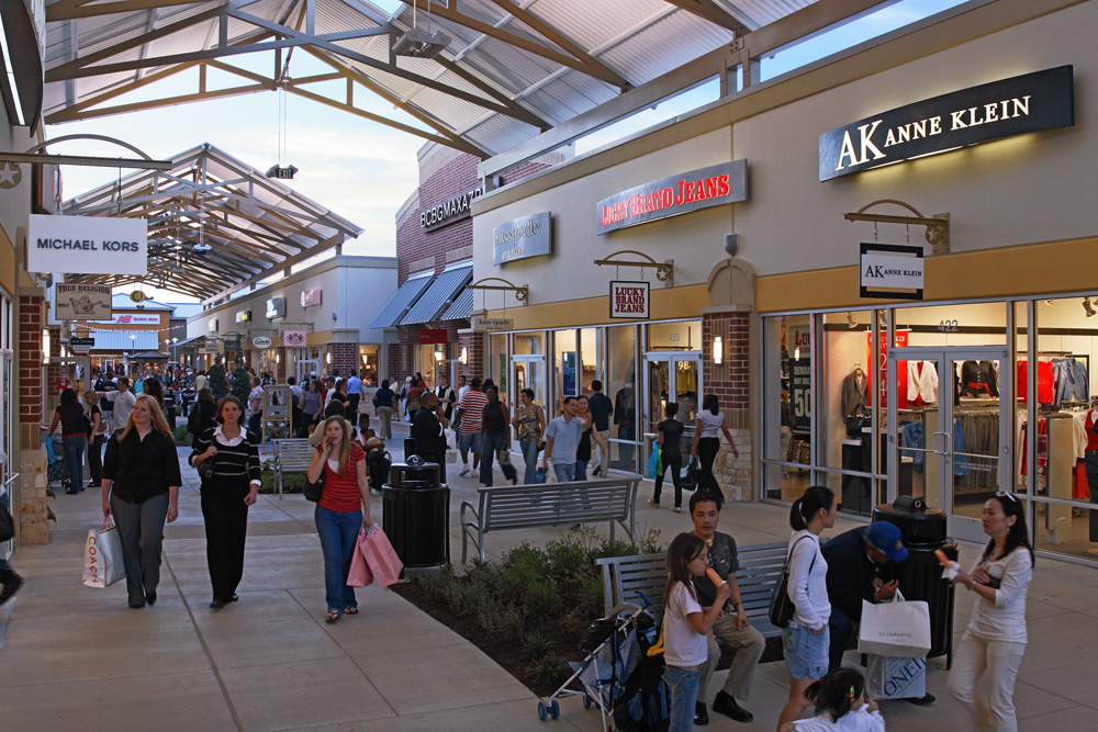 Complete list of stores located at houston premium outlets for Michaels craft store houston texas