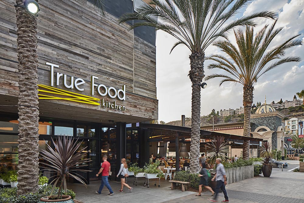 True Food Fashion Valley Mall San Diego