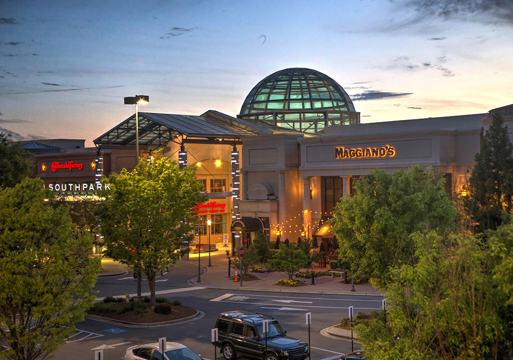 SouthPark Mall Charlotte is located in Charlotte, North Carolina and offers stores - Scroll down for SouthPark Mall Charlotte shopping information: store list (directory), locations, mall hours, contact and address. Address and locations: Sharon Rd, Charlotte, North Carolina - NC - /5(11).