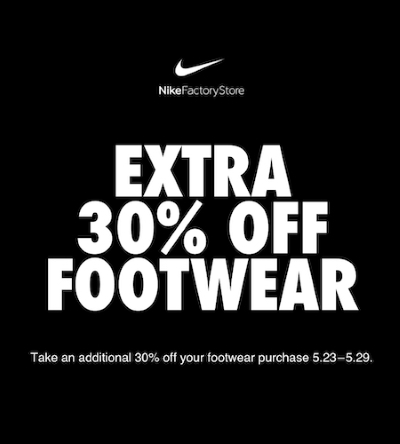 sports shoes 27941 cf2e6 NIKE Factory Store Carries Accessories at Philadelphia Mills ...