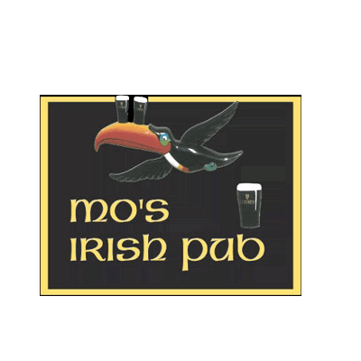 Mo's Irish Pub.