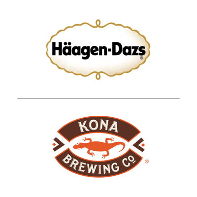Haagen Dazs/Kona Coffee Brewing Co.
